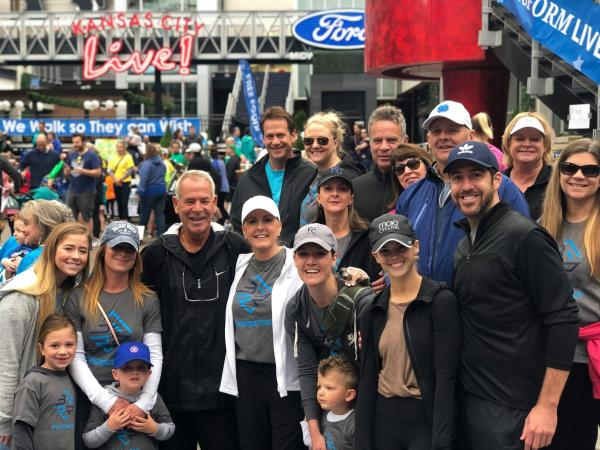Team BFRR at the 2019 Walk for Wishes